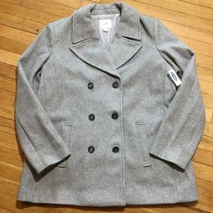 Old Navy Mens Double Breasted Pea Coat XXL Tall